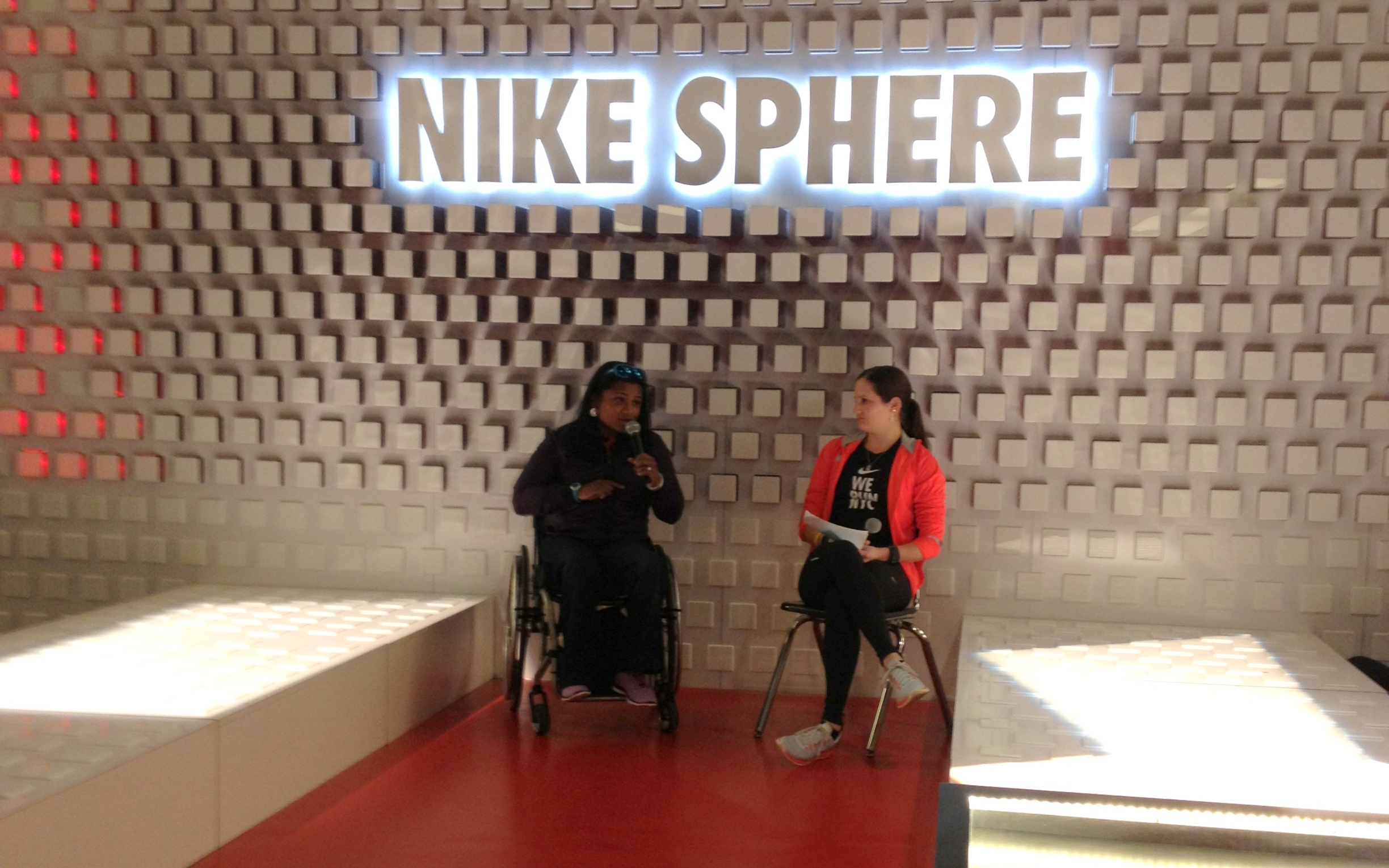 Minda Dentler - Niketown Women's Running Club Q&A